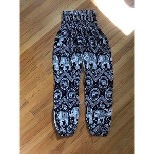 Pants - The Elephant Pants Branded Harlem Pants